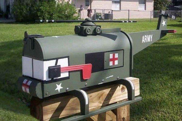Weird Mailbox